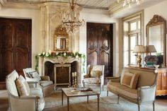 Eye For Design: Decorating With Louis XV Style French Mantles