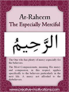 Countdown to Ramadhan: Learning the 99 Names of Allah Allah God, Allah Islam, Islam Quran, Islam Muslim, Quran Verses, Quran Quotes, Islamic Quotes, Qoutes, Islamic Dua