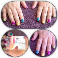More Multi coloured #gelish #nails #rdbeauty #burtonupontrent http://bit.ly/rdbeautynews