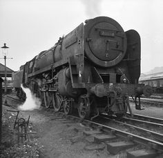 The Last Steam Loco To Be Overhauled At Crewe Works