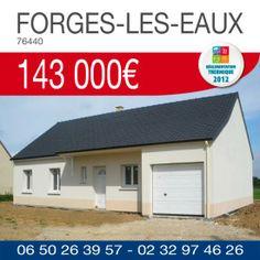 #HabitatConcept vous propose ce pavillon avec garage à FORGES-LES-EAUX (76440) pour 143 000€ TTC*. Renseignements par téléphone au 06.50.26.39.57