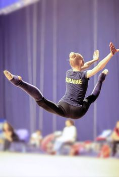 radissonclaire: Anastasia Mulmina | Photo credit #rhythmic #gymnastics #training