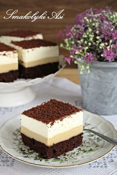 Polish Recipes, Amazing Cakes, Tiramisu, Oreo, Cheesecake, Deserts, Dessert Recipes, Yummy Food, Sweets