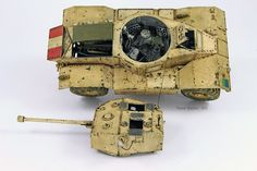 35155 AEC Mk.II ARMOURED CAR by Modeller Pascal Bausset (France) #AEC #ARMOURED #CAR