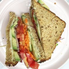 designer bags and dirty diapers: The Ultimate Veggie Sandwich + Favorite Knives