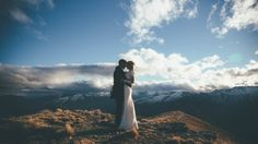Epic Mountaintop Wedding in New Zealand | Photo by Jim Pollard Goes Click