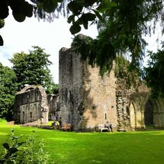 Inchmahome Priory in Buchlyvie, Stirlingshire