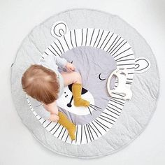 Baby play mat - Lion (D-142)