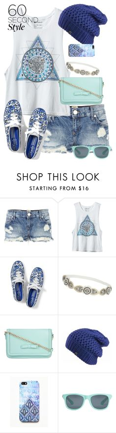 """""""Blue Floral Sneakers"""" by haybelle0207 ❤ liked on Polyvore featuring River Island, Keds, Topshop, ZALORA, The North Face, Free People, Local Supply, contest, Blue and keds"""