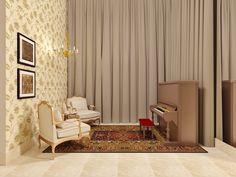 Fernanda Seabra - Designer de Interiores: SALA DE PIANO