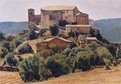 Andreas Vanpoucke ' Catalaans Landschap '