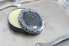 Printed Solid Perfume in Ambergris design by Simpatico
