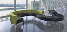 Sofa: Bene Coffice Curved