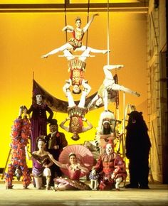Francesca Zambello's colourful production of The Bartered Bride for the Royal Opera House, 2001.