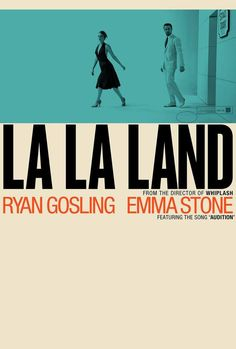 La La Land movie posters - Fonts In Use