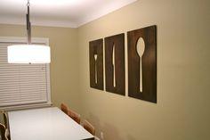 Art work- dining room