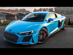 Audi R8 V10, Audi R8 Blue, Rims For Cars, Hot Cars, Exotic Sports Cars, Racing Wheel, Unique Cars, Brake Calipers, Expensive Cars