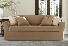 45 best loose back furniture seat cushions images sure fit rh pinterest com