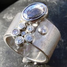 blue gold smiths (asheville, nc) - [i was honored to meet the designer and her fiance yesterday - can't wait to get my hands on a piece of susan's art! Jewelry Rings, Jewelery, Silver Jewelry, Metal Clay Jewelry, Right Hand Rings, Love Ring, Modern Jewelry, Ring Designs, Sterling Silver Rings
