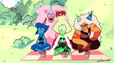 See more 'Steven Universe' images on Know Your Meme! Steven Universe Mom, Thor, Holly Blue, Lapis And Peridot, Universe Images, Pixar Movies, Marvel Wallpaper, Deviantart, Cool Art