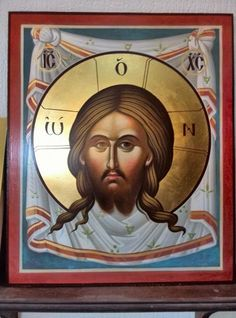 Byzantine Art facebook group. Savior, Jesus Christ, Paint Icon, Byzantine Art, All Icon, Catechism, Orthodox Icons, Religious Art, My King