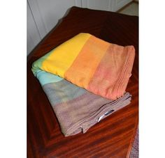 Girasol Diamond Gold Rainbow woven wrap