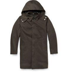 MackintoshBonded-Cotton Hooded Raincoat