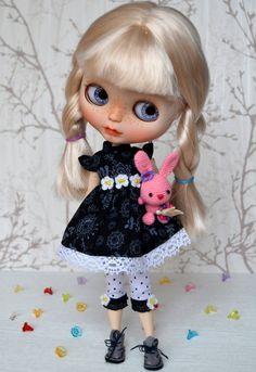 Blythe vestido Leggings equipo de la muñeca Blythe por BeMyDoll