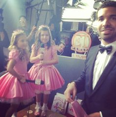 Sophia Grace and Rosie with Drake