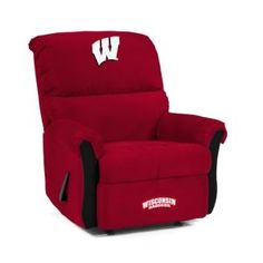 Wisconsin Badgers Recliner for our Badger Room---