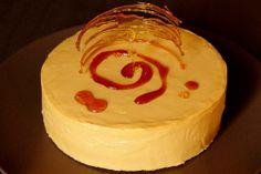 Čokoládovo-ořechový dort s karamelovým krémem   Je libo kousek dortu? Matcha, Food And Drink, Bakken