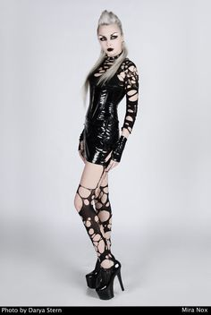 Gothic and Amazing — Model: Mira Nox...