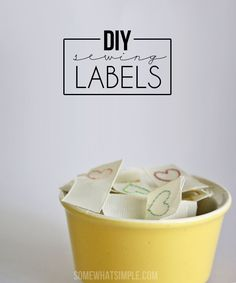 How to make your own labels - and it's easier than you think!