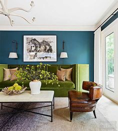 Teal can seem like a bold (and scary) choice when you're choosing a color palette for a room, but if used correctly, the blue-green hue can provide the perfect combination of sophistication and sass. This is our guide to inco/