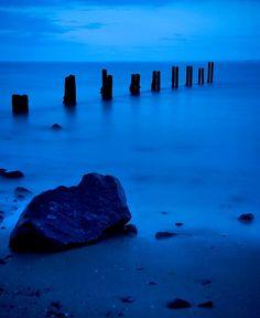 Cool Blue View  - Scottish Coast