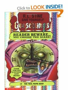 R l stine more more more tales to give you goosebumps special tick tock youre dead give yourself goosebumps 2 by fandeluxe Images