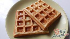 Nejlepší jemné a křehké waflové těsto Pavlova, Good Food, Yummy Food, Food Humor, Graham Crackers, Nutella, Sweet Recipes, Deserts, Dessert Recipes