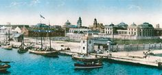 Fotos Del Puerto De Veracruz | Vista del puerto de Veracruz a finales del siglo XIX