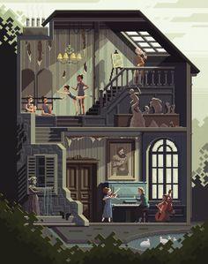 Scene #32: 'The Art School' by octavinavarro.deviantart.com on @DeviantArt