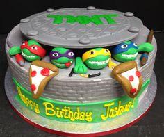 Teenage Mutant Ninja Turtle Birthday Cake Inspiration