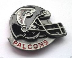 *** ATLANTA FALCONS HELMET *** Novelty NFL Hat Pin P52001 EE