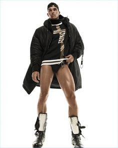 Trevor Signorino Rocks EA7 for British GQ Style - The Fashionisto