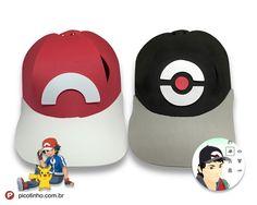 Boné de EVA Pokemon Go / Pokemon Ash