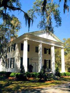 Millbrook Plantation House - Georgetown County, South Carolina  - love the scale