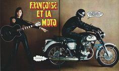 Francoise et la Moto | by Covers etc