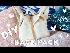 DIY Pleather Backpack For School From Scratch! 596b8c0ea38de