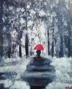 "Saatchi Art Artist krista may; Painting, ""Our Walks"" #art"