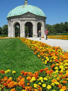Hofgarten, Munich, Germany. One of my favorite places to go to and relax.