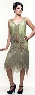 Liberty Exports flapper dress | More here: http://mylusciouslife.com/shopping-inspired-by-the-great-gatsby/