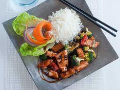 Laxwok teriyaki | Recept från Köket.se Candy Recipes, Fish Recipes, Asian Recipes, Baking Recipes, Great Recipes, Healthy Recipes, Ethnic Recipes, Candy Drinks, Menu
